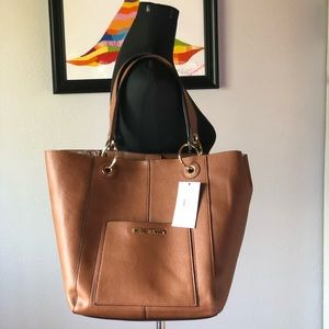 Faux-leather Steve Madden Bwilde tote- 2 bags in 1